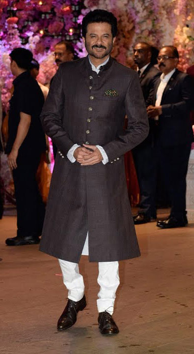 Anil Kapoor at Akash Ambani engagement