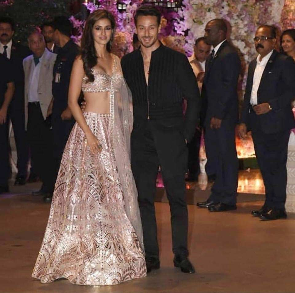 Tiger Shroff at Akash Ambani engagement