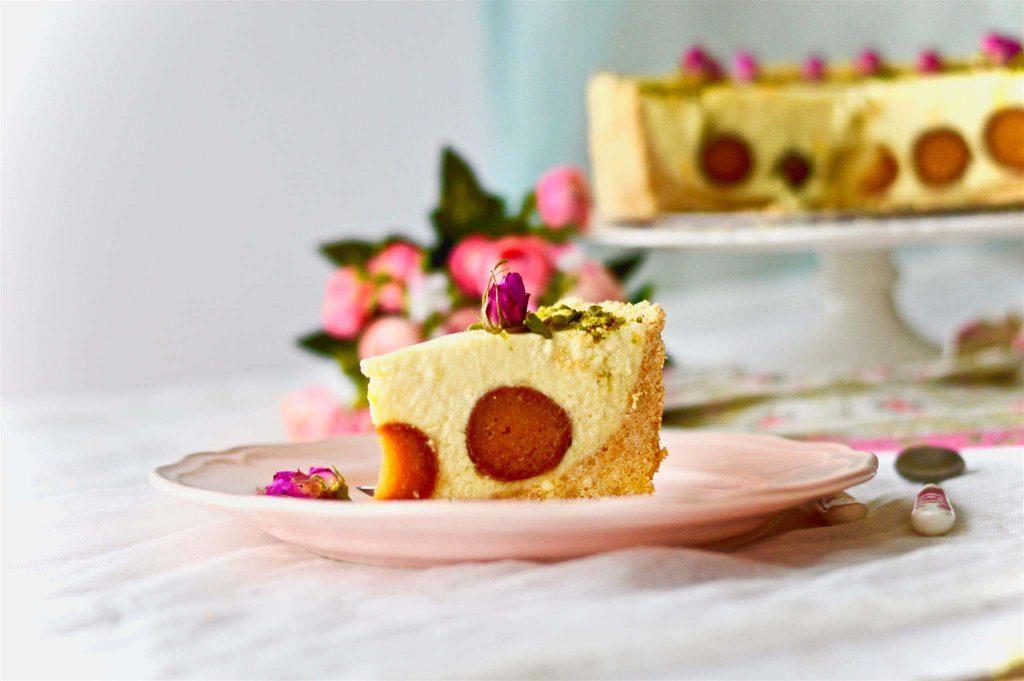 gulabjamun cheese cake dish