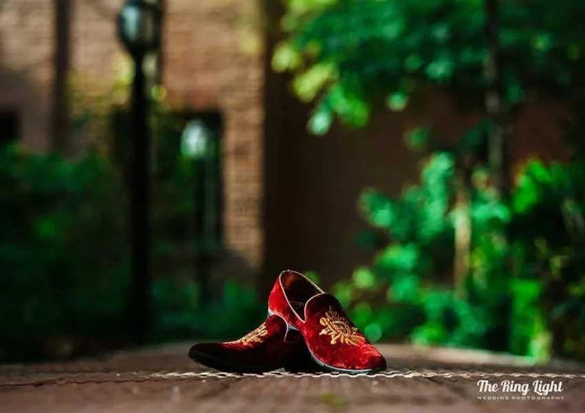 trendy groom footwear styles 22