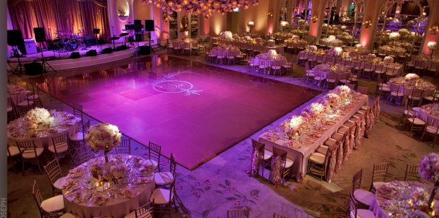 decoration in banquet halls in delhi