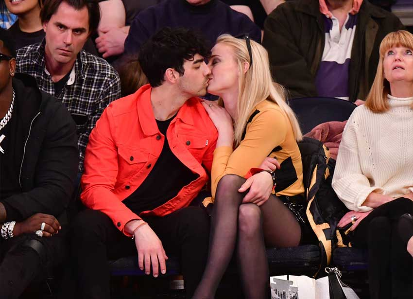 Joe Jonas and Sophie Turner Images Four
