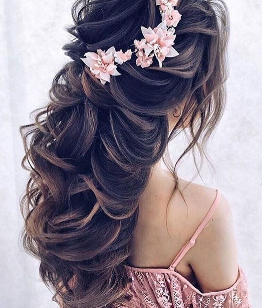 Bridal Hairstyles Reception Party 6