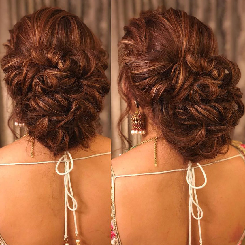 Bridal Hairstyles Reception Party 9