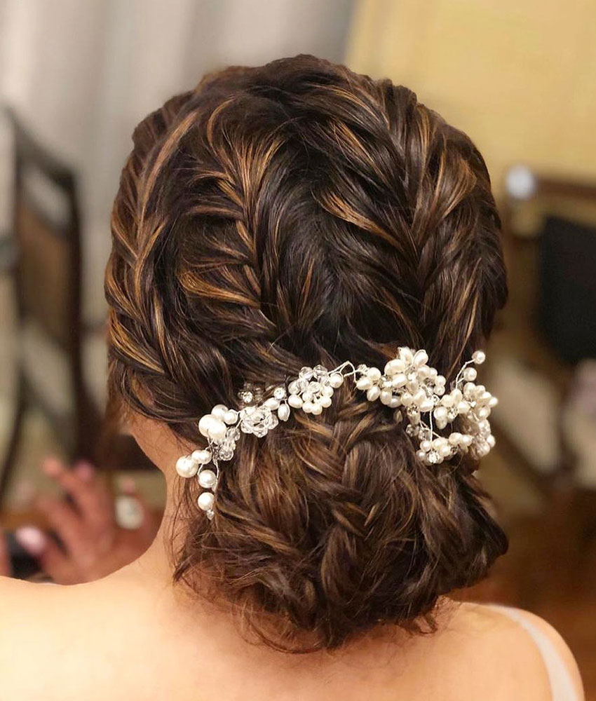 Bridal Hairstyles Reception Party 13