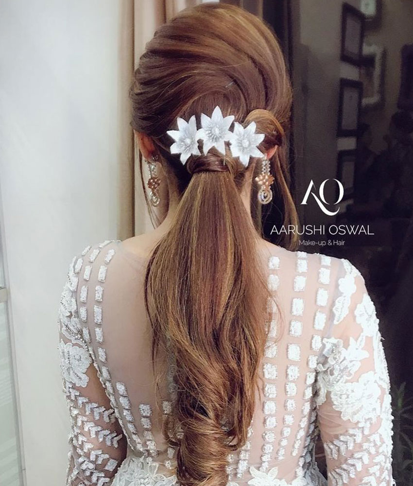 Bridal Hairstyles Reception Party 16