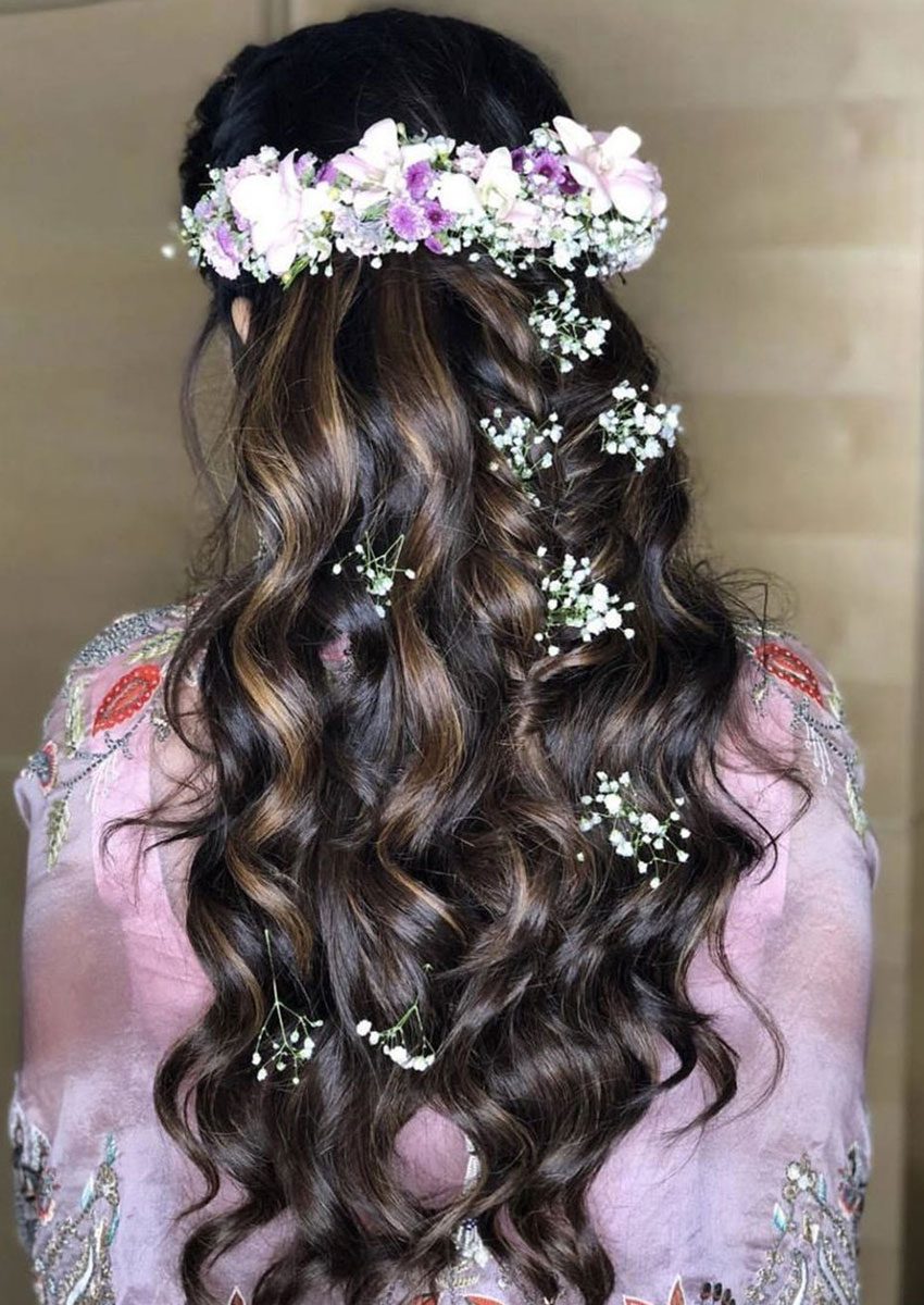 Bridal Hairstyles Reception Party 17