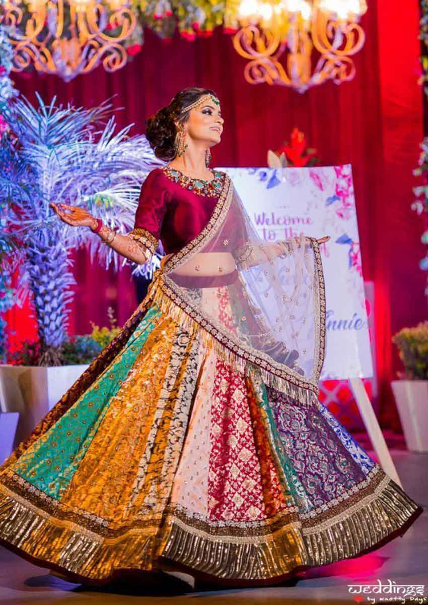 Unique Bridal Lehenga Designs (10)