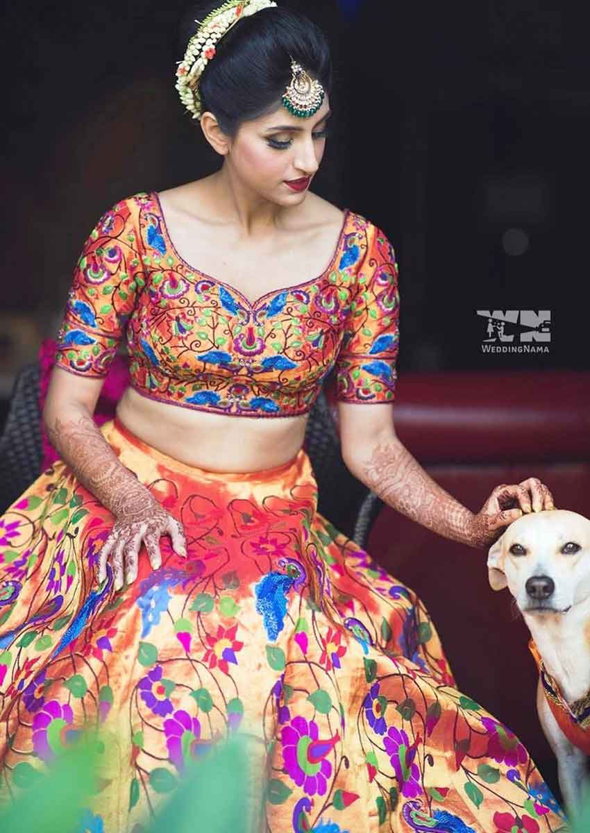 Unique Bridal Lehenga Designs (2)
