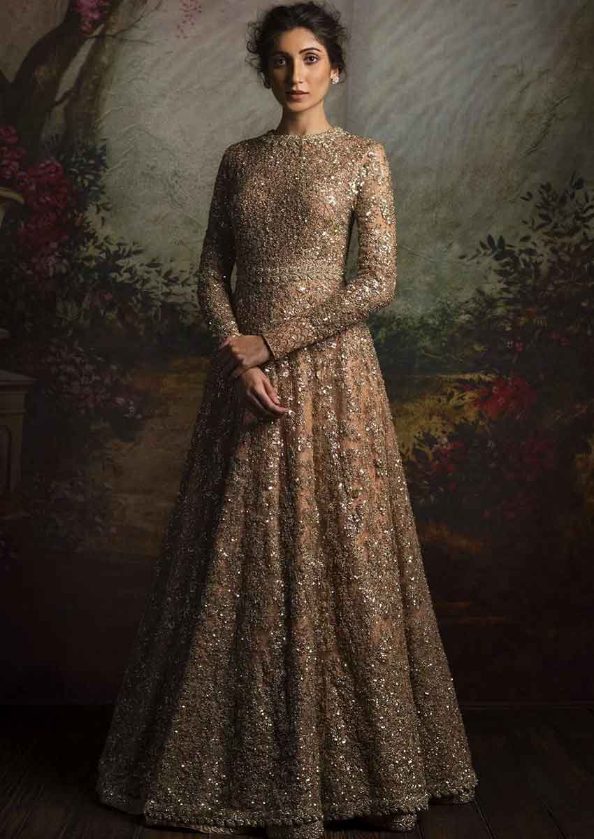Chic Gown Sleeve Designs (2)